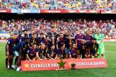 برشلونة يجتاز بوكا جونيورز الأرجنتيني بثلاثية في كأس خوان جامبر