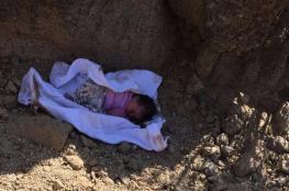 سعودي ينقذ رضيعة مدفونة بعد سماعه صوتها من القبر