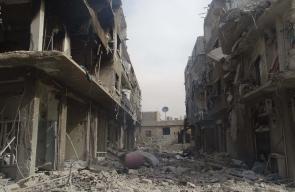 مشاهد للدمار جراء غارات النظام السوري المتواصلة على حي القابون شرقي دمشق تصوير: Odai Awdeh