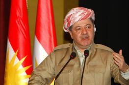 البارزاني يمهل بغداد ثلاثة أيام لطرح بديل للاستفتاء