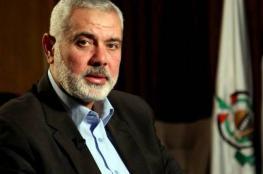 هنية يهاتف رئيس مجلس النواب اللبناني ويطلعه على اتفاق المصالحة