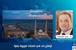الصحة بغزة لشهاب: نعيش ذروة الوباء والضامن الوحيد لرفع الخطر هو وعي المواطن