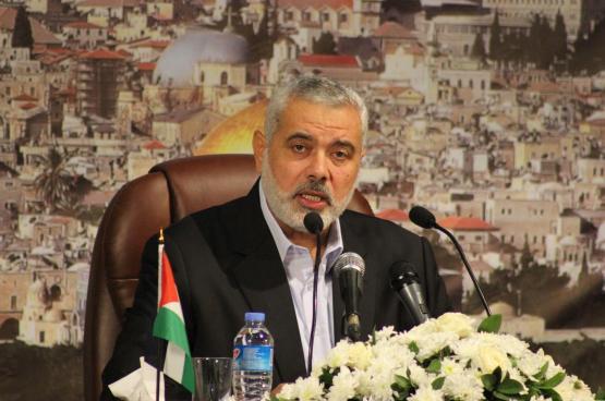 هنية يهاتف عددا من قادة الفصائل ويضعهم في نتائج الزيارة الأخيرة للقاهرة