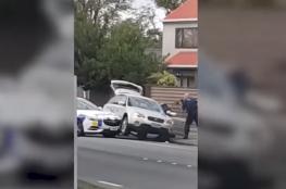 كاميرا فندق ترصد زاوية أخرى بهجوم نيوزيلندا