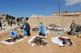 وفاة 13 مهاجرا اختناقا داخل حاوية في ليبيا