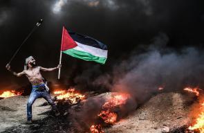 المسير البحري الـ14 شمال غزة