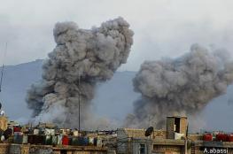 قصف متواصل وتدمير ممنهج لمخيم اليرموك