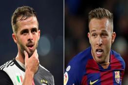 برشلونة يعلن ضم بيانيتش ورحيل أرثور إلى اليوفي