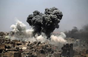 قصف عنيف في الساعات الأخيرة من حسم معركة الموصل