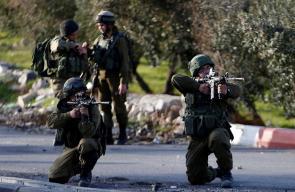 مواجهات بين الشبان الفلسطينيين وقوات الاحتلال في بلدة تقوع ببيت لحم