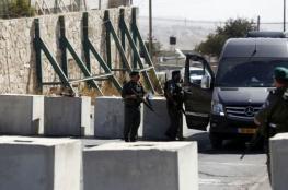 الاحتلال يغلق جميع مداخل بلدة حزما بالقدس