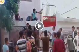 """في أول يوم دراسي.. """"شاهد"""" هروب جماعي لطلاب مصريين بالمنوفية"""