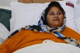 وفاة أسمن امرأة في العالم بعد إجرائها عملية بأبو ظبي