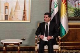 بارزاني: حل خلافات بغداد وأربيل في مصلحة كل العراق