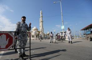 وزارة الداخلية بغزة تُنفذ مناورة لرفع قدرة الأجهزة الأمنية