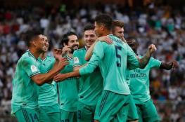 ريال مدريد يهزم فالنسيا بثلاثية ويتأهل لنهائي كأس السوبر الإسباني