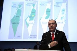 أردوغان: سنواصل كفاحنا لإقامة دولة فلسطينية مستقلة وذات سيادة