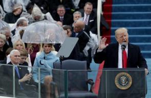 تنصيب ترامب رئيساً للولايات المتحدة الأمريكية