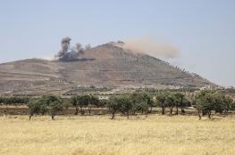 النظام يعلن سيطرته على مناطق قرب الجولان المحتل