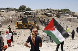 الاحتلال يمهل أهالي الخان الأحمر حتى 1/10 لهدم منازلهم بأيديهم