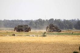 """توغل 6 جرافات عسكرية """"إسرائيلية"""" شرق جباليا"""
