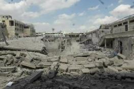 مناشدات لإخراج جثامين عائلات فلسطينية لا تزال تحت الانقاض في مخيم اليرموك