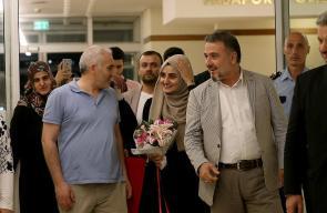 المواطنة التركية إبرو أوزكان تصل إسطنبول بعد الإفراج عنها
