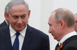 هذا ما دار في المكالمة الهاتفية بين بوتين ونتنياهو حول الطائرة الروسية