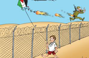 كاريكاتير علاء اللقطة - إف 16 الفلسطينية