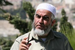 الشيخ صلاح يحذر من محاولات لاستهدافه محملاً الاحتلال المسؤولية عن حياته