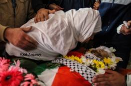 تشييع جثمان فلسطيني استشهد برصاص الاحتلال وسط الضفة