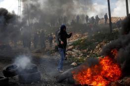 اصابة مواطنين برصاص الاحتلال في عوريف