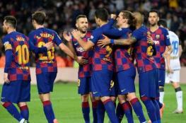 مفاجأة.. إصابة 5 لاعبين من برشلونة بفيروس كورونا