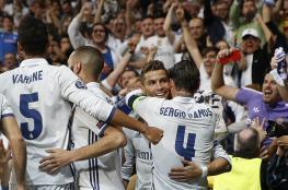 ريال مدريد يمزق شباك أتلتيكو بهاتريك رونالدو