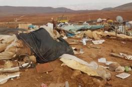 الاحتلال يهدم عريشا زراعيا للمرة الثانية جنوب بيت لحم