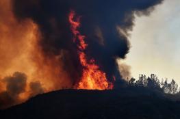 كاليفورنيا تكافح أكبر حريق في تاريخها وارتفاع عدد الضحايا إلى 7 أشخاص