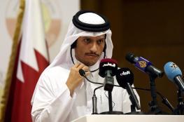 وزير الخارجية القطري: أي تصعيد عسكري جديد له عواقب باهظة
