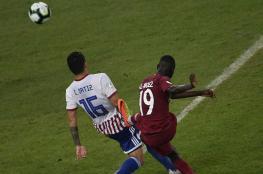 """قطر تفتتح مشاركتها الأولى في """"كوبا أمريكا"""" بالتعادل مع الباراغواي"""