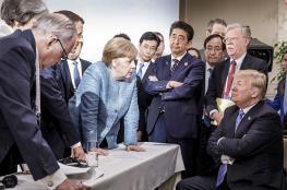 """الرئاسة الفرنسية: انسحاب ترامب من قمة السبع """"قلة تماسك"""""""