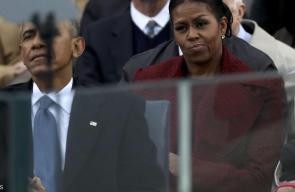 صور تظهر ملامح زوجة باراك أوباما التي يوصفت