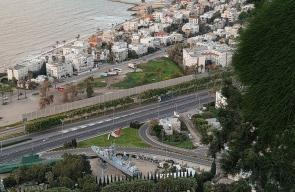 صور لمدينة حيفا المحتلة مساء اليوم