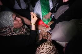 تشييع حاشد للشهيد كريم كلاب بمدينة غزة