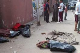 """سر """"جثث الأطفال الثلاثة"""" بمصر .. حريق بغرفتهم والأم بملهى ليلي"""