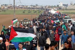 مسيرات العودة.. الشعب الفلسطيني يأخذ زمام المبادرة