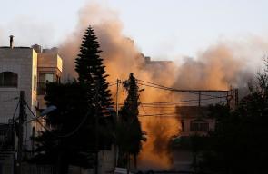 الاحتلال يفجر منزل عائلة أبو حميد في مخيم الأمعري