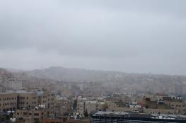 الطقس: انخفاض على درجات الحرارة وأمطار فوق معظم المناطق