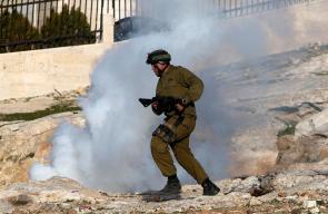 مواجهات مع قوات الاحتلال في بلدة تقوع ببيت لحم