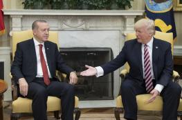 ترامب وأردوغان يتباحثان حول الشأن السوري