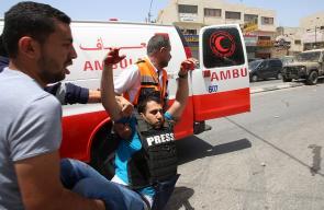 مواجهات بين الشبان وقوات الاحتلال في بلدة حوارة جنوب نابلس