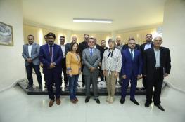 مجلس أمناء جامعة فلسطين يفتتح الجلسة الأولى للمجلس